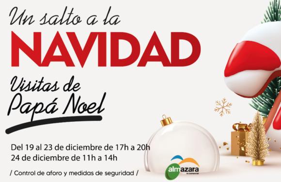 Llega Papá Noel a Almazara Plaza