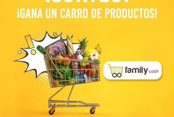 Gana un carro de productos FamilyCash